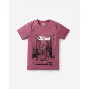 YB DNMX Graphic Print Crew-Neck T-shirt