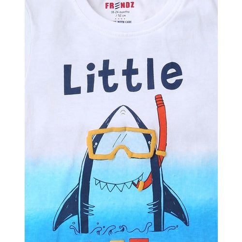 INF FRENDZ Graphic Print Crew-Neck T-shirt