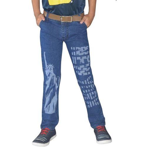 Tara Lifestyle Regular Boys Blue Jeans