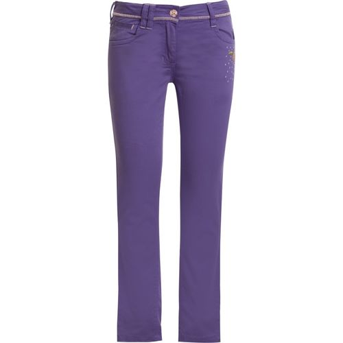 Under Fourteen Only Skinny Fit Girls Purple Trousers