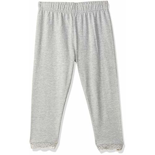 Max Girl's Cotton Leggings (SP20CLG03GREY_Grey_3-4Y)