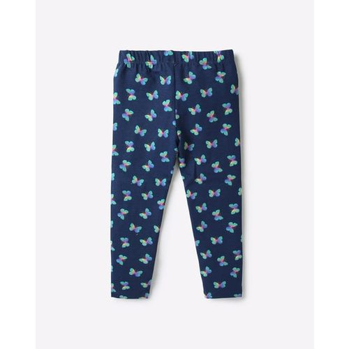 KG FRENDZ Butterfly Print Leggings with Elasticated Waistband