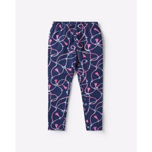 KG FRENDZ Printed Leggings with Elasticated Waistband