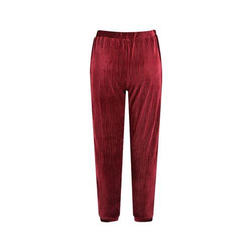 Sam & Friends red cotton casual trouser