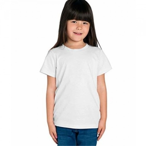 American-Elm Girls' T-Shirt (ME-G-KHST-A-WHT_55_White_4-5 Years)