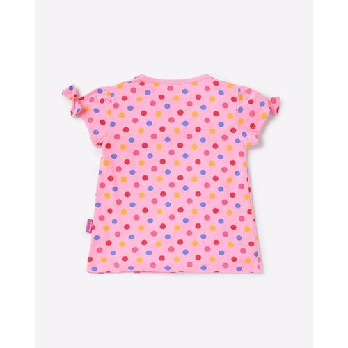 Disney Minnie Mouse Print Crew-Neck T-shirt