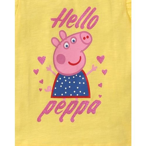 OTHER CHARACTERS Peppa Pig Graphic Print Round-Neck T-shirt