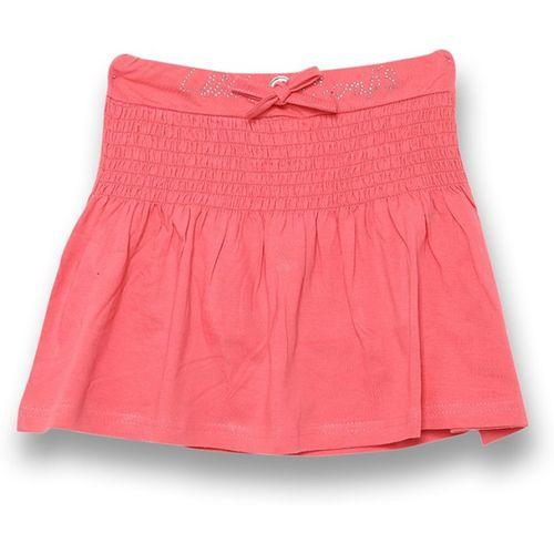 V2 Retail Limited Solid Girls Regular Red Skirt
