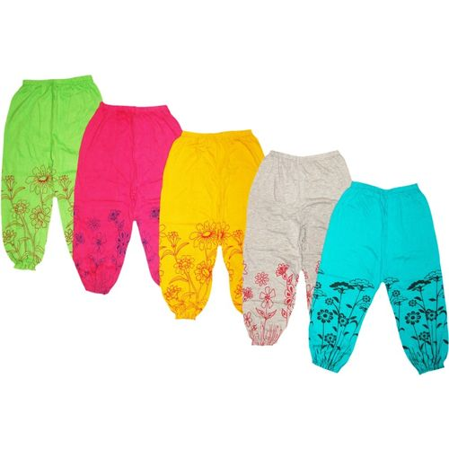 Kifayati Bazar Capri For Girls Casual Floral Print Cotton Blend(Multicolor Pack of 5)