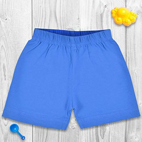 Luke and Lilly Girls Casual Cotton Shorts