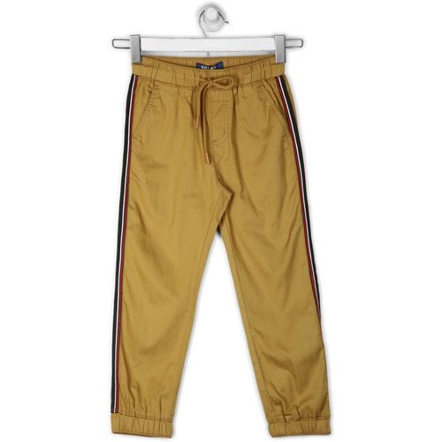 Killer Regular Fit Boys Brown Trousers