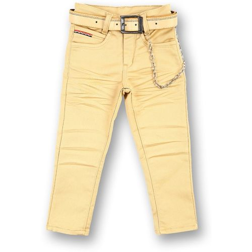 V2 Retail Limited Regular Fit Boys Brown Trousers