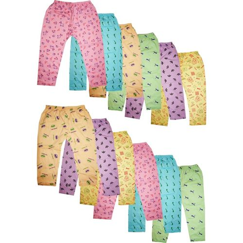Kifayati Bazar Track Pant For Boys & Girls(Multicolor, Pack of 12)