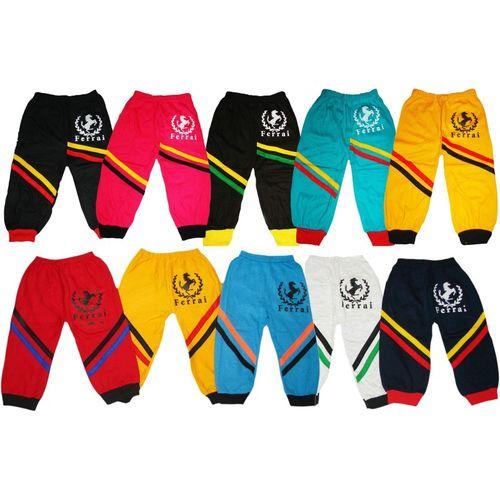 Kifayati Bazar Track Pant For Boys & Girls(Multicolor, Pack of 10)