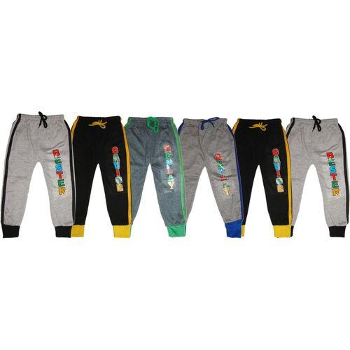 Kifayati Bazar Track Pant For Boys & Girls(Multicolor, Pack of 6)