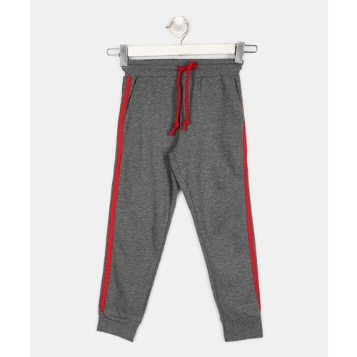 Provogue Track Pant For Boys(Grey, Pack of 1)