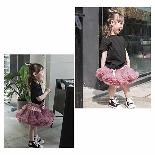 Elfin-Lore Baby Kids Pettiskirt 3-18 Months Girls Cute Tutu Skirts Dance Carnival Costumes Grey - XS