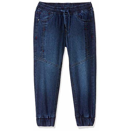 Amazon Brand - Jam & Honey Blue Cotton Stretchable Jeans