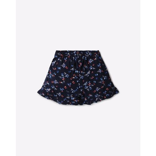 KG FRENDZ Printed Mid-Rise Shorts with Skirt Styling