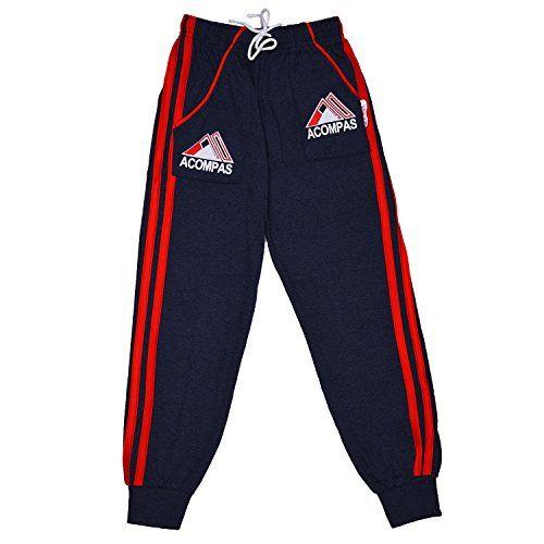 ALOFT Boys' Regular Fit Trackpants Pack of 2) (Aloftkidstracks2_2pcs_13-14years_Multi-Coloured_13-14 Years)