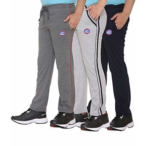 VIMAL JONNEY Boy's Cotton Blended Trackpants - Pack of 3