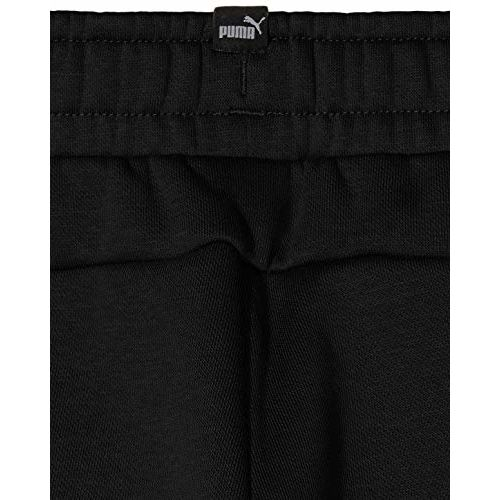 Puma Boy's Trackpants Track Pants (852108011_Cotton Black_7-8 Years)