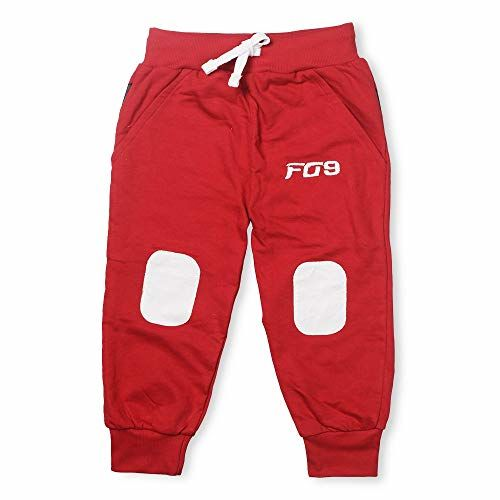 Finger's Girls' & Boys' Loose Fit Trackpants (Pack of 3) (Patch-TP_3-4y_Multicolored_3-4 Years)