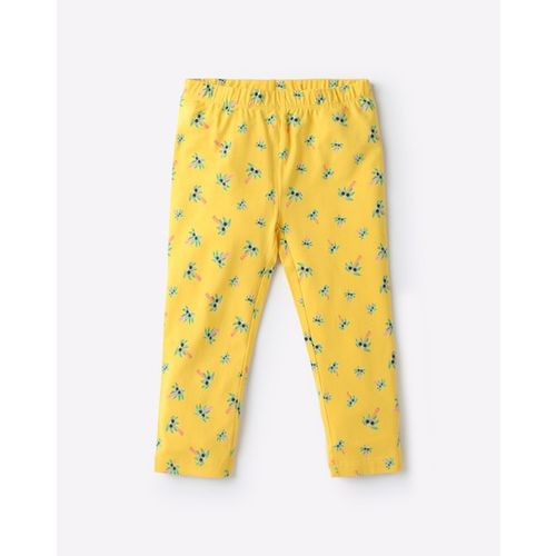 KG FRENDZ Printed Capris with Elasticated Waist