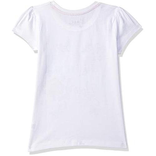 Max Girl's White Regular fit T-Shirt