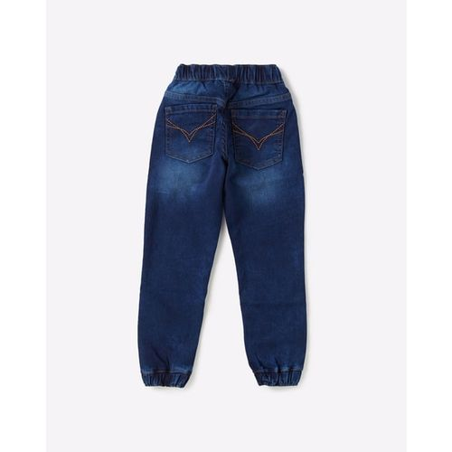 FLYING MACHINE KIDS Washed Skinny Jogger Jeans