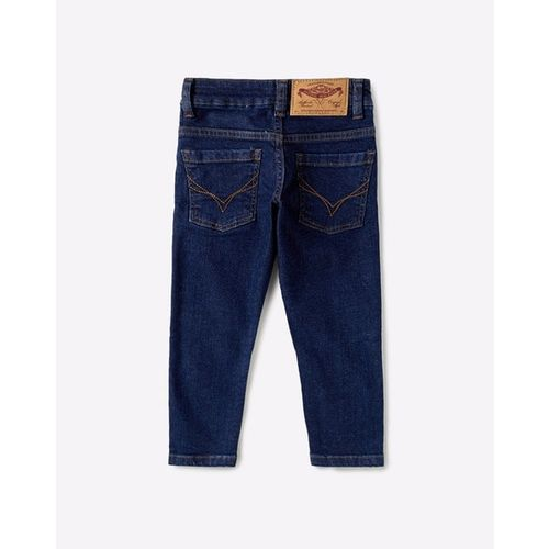 FLYING MACHINE KIDS Lightly Washed Mid-Rise Skinny Jeans