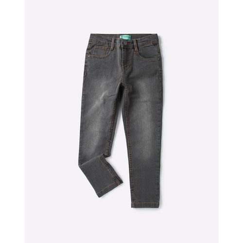 KB TEAM SPIRIT Mid-Rise Relaxed Fit Jeans
