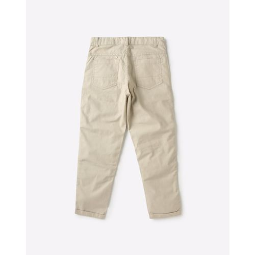 KB TEAM SPIRIT Mid-Rise Trousers with Contrast Taping