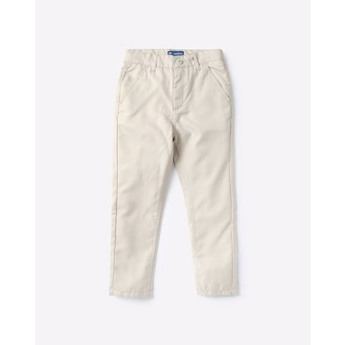 KB TEAM SPIRIT Flat-Front Trousers with Insert Pockets