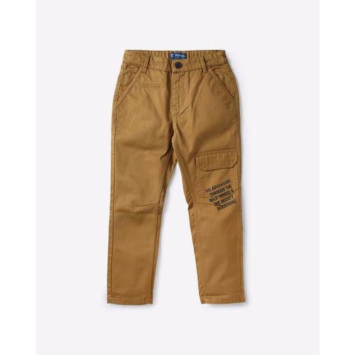 KB TEAM SPIRIT Flat-Front Cargo Pants with Flap Pocket