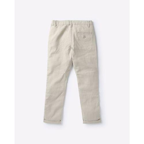 KB TEAM SPIRIT Flat-Front Mid-Rise Trousers
