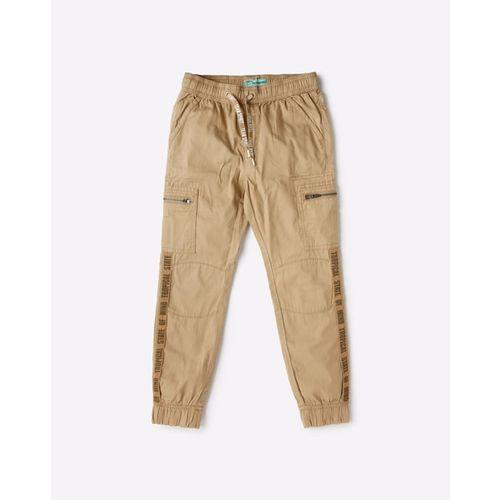 KB TEAM SPIRIT Panelled Joggers with Typography