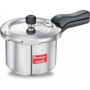 Prestige Svachh 3 L Induction Bottom Pressure Cooker(Aluminium)