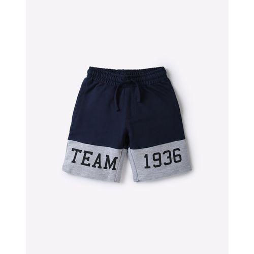 KB TEAM SPIRIT Mid-Rise Shorts with Drawstring Elasticated Waistband