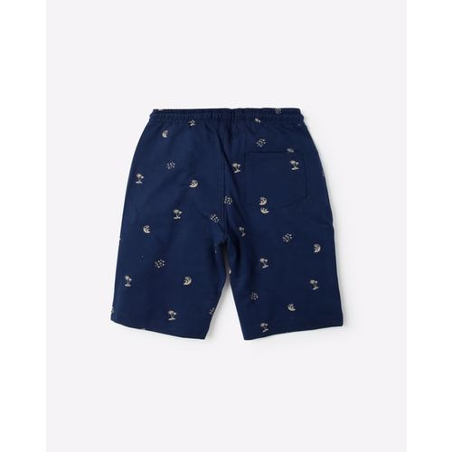 YB DNMX Novelty Print Surfer Shorts with Elasticated Drawstring Waist