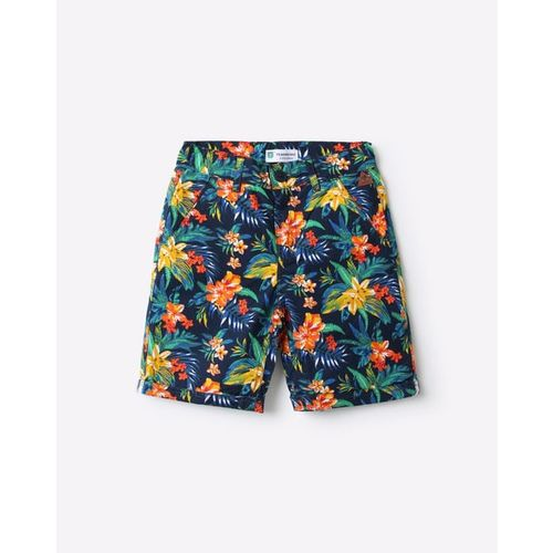 KB TEAM SPIRIT Floral Print Shorts