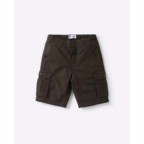 KB TEAM SPIRIT Cargo Shorts with Button Closure