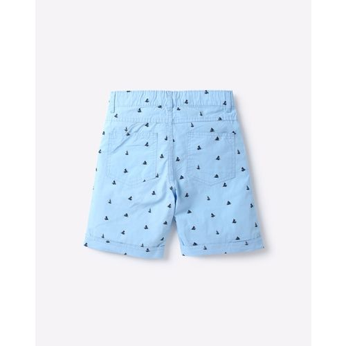 KB TEAM SPIRIT Printed Shorts with Semi-Elasticated Waistband
