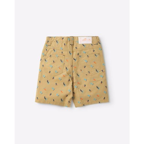 POINT COVE Printed Shorts with Insert Pockets
