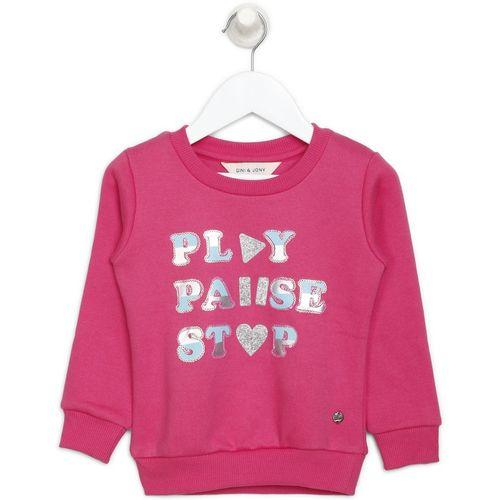 Gini & Jony Full Sleeve Embellished Girls Sweatshirt