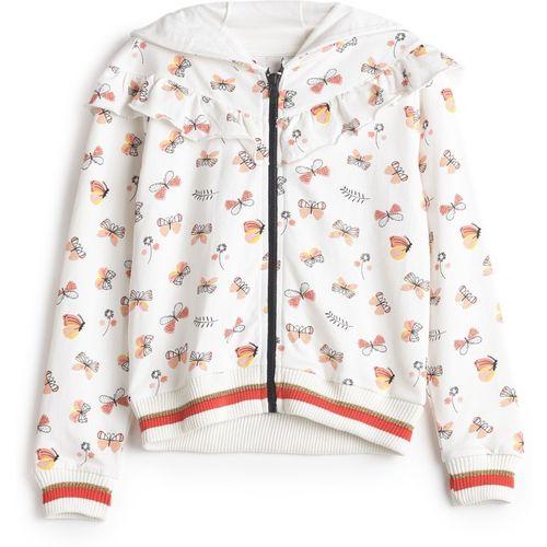 Under Fourteen Only Full Sleeve Printed Girls Sweatshirt