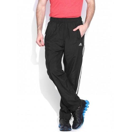envase Espacioso extremadamente  Buy Adidas black ESS 3S WV Training Track Pants online | Looksgud.in