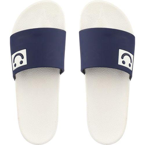 Shoetopia Girls Slip On Slipper Flip Flop(Blue)