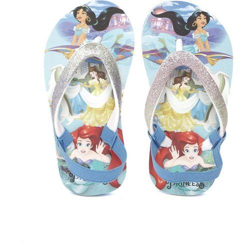 Disney Girls Slip On Slipper Flip Flop(Blue)