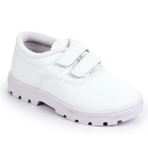 Prefect By Liberty Girls Velcro Running Shoes(White)